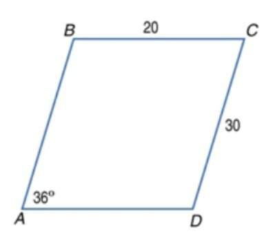 Abcd is a parallelogram. find m ∠d. enter the answer as a number. abcd is a parallelogram. find the