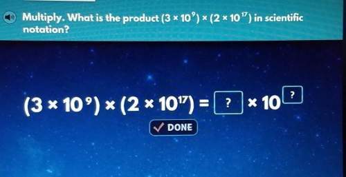 "Multiply. what is the product (3 * 10°) * (2 x 10"") in scientificnotation? plzzz noww​"